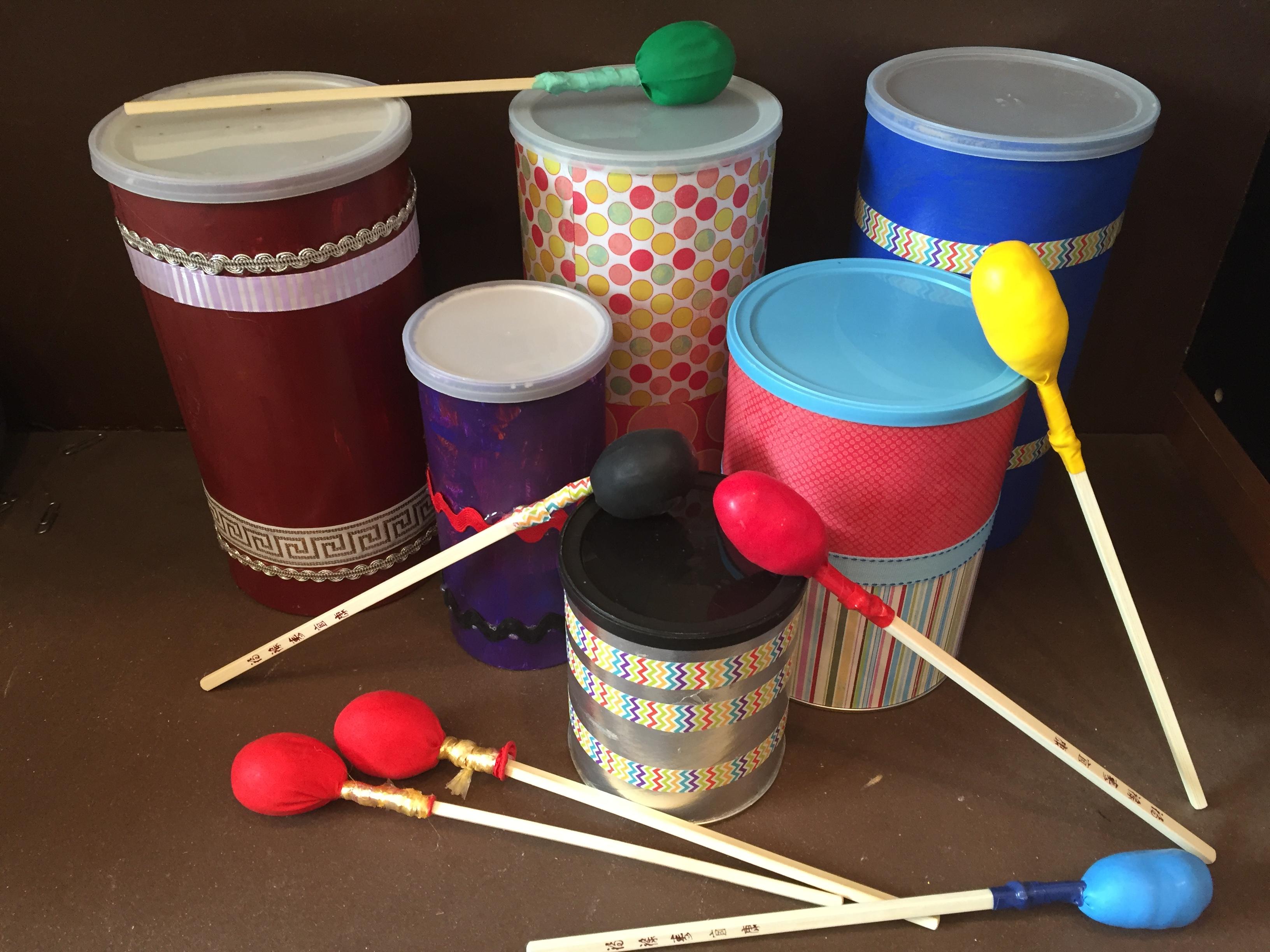 Oatmeal Tub Drums