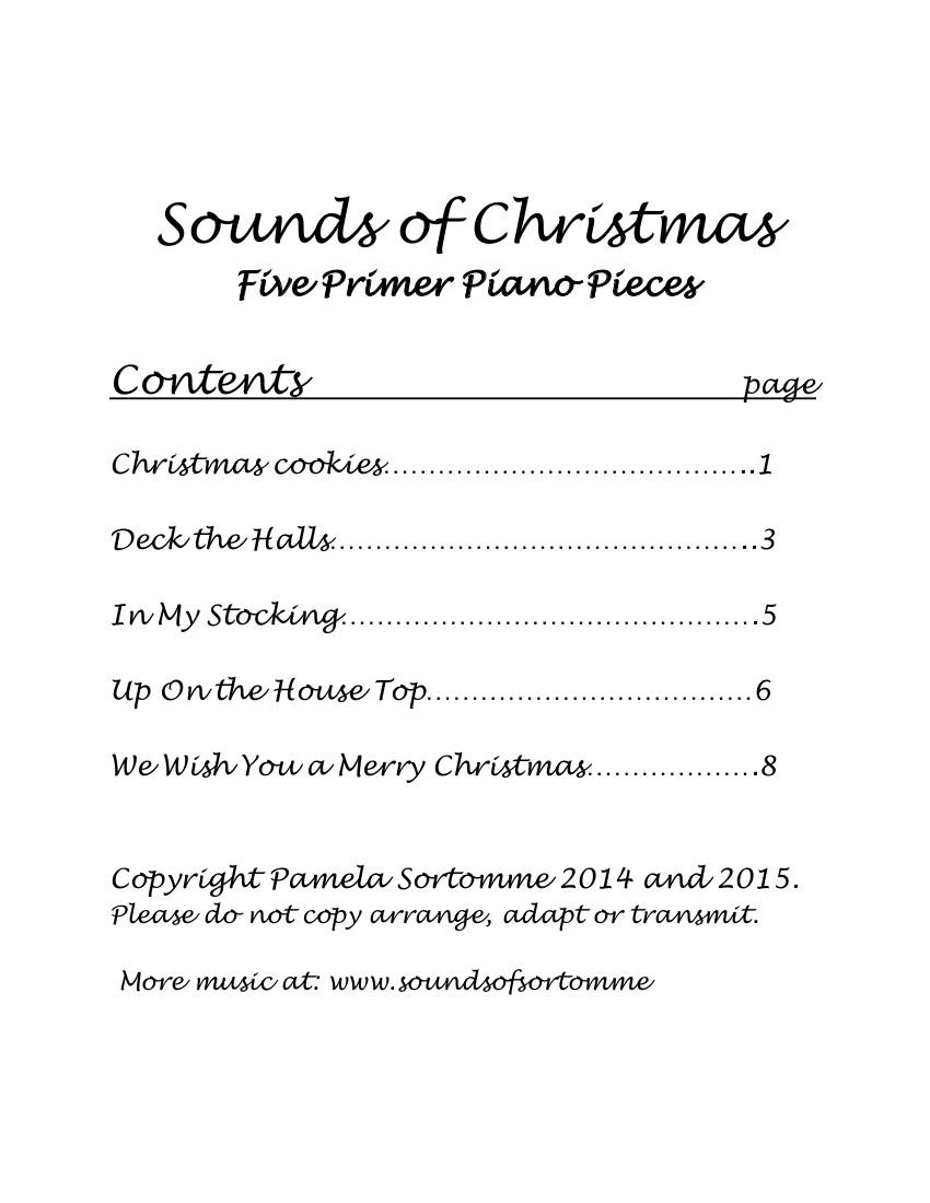 Christmas Instrumental   Sounds Of Sortomme